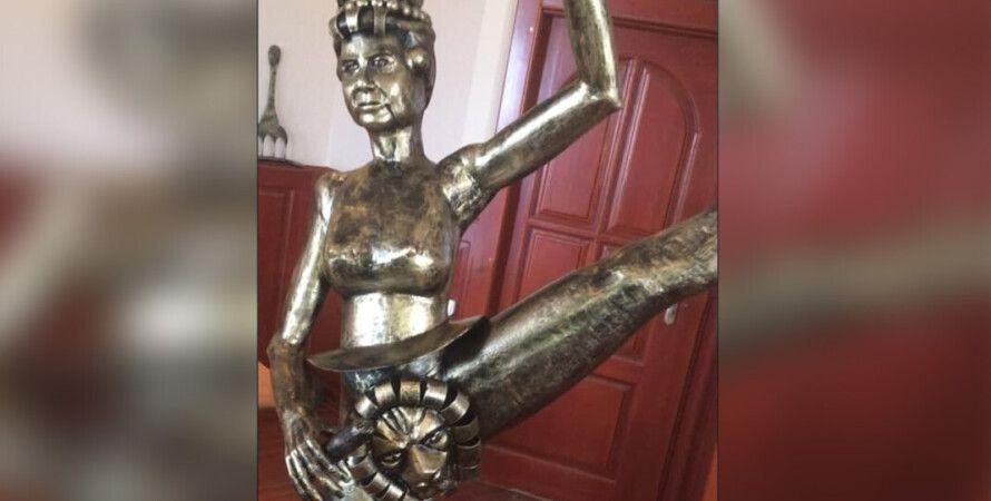 скульптура, статуя, елизавета II, Россия, Англия