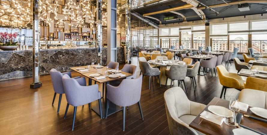ресторан, пустой зал, киев