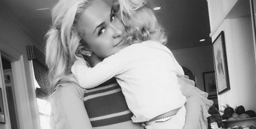 Хайден Пенеттьери с дочерью фото