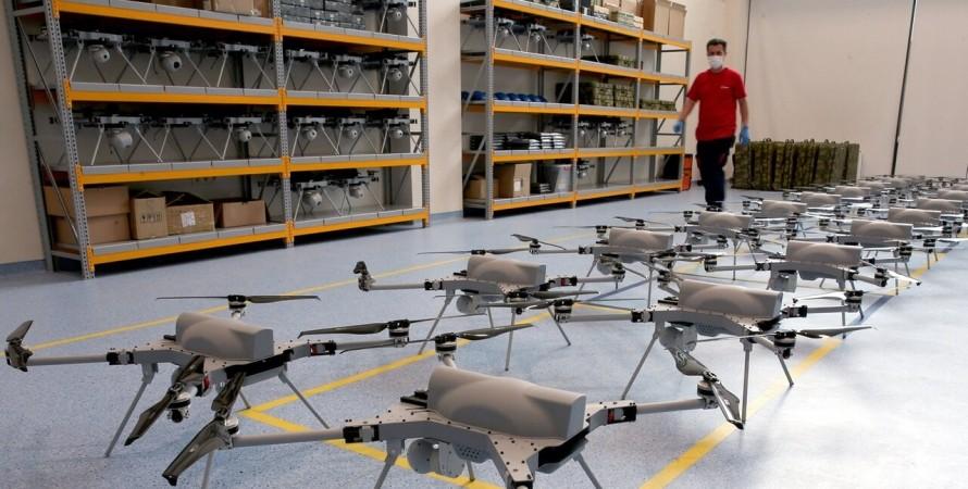 дрон, ударный беспилотник KARGU-2, ЧП с дроном KARGU-2, вооружение Турции