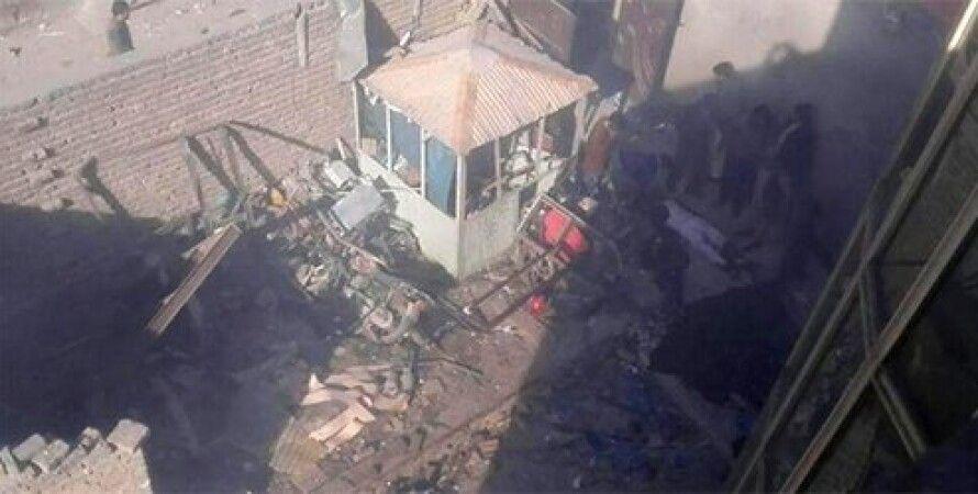 На месте взрыва / Фото: twitter.com/TOLOnews
