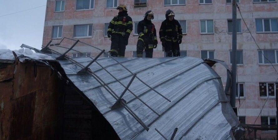 Россия, Магадан, стихийное бедствие, ураган,