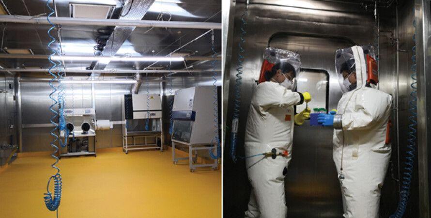 Лаборатория уровня биобезопасности BSL-4. Фото: CDC