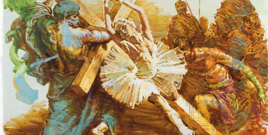 """Работа Арсена Савадова """"NO TIME TO WASTE"""" стала самой дорогой продажей на аукционе Sotheby""""s в Лондоне"""