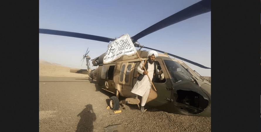 американское оружие у талибов