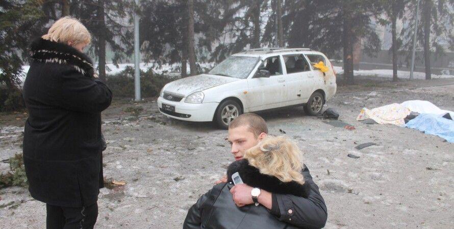 После обстрела Донецка 30 января / Фото: dnr24.com