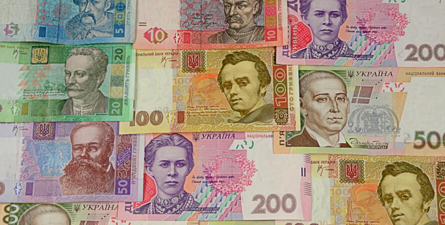 банкноты, гривня