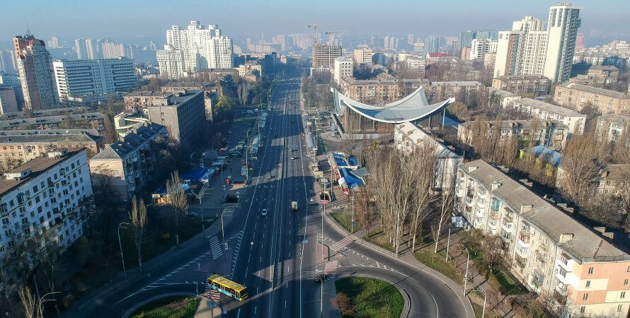 коронавірус, карантин, локдаун, пандемія, Київ без заторів — фото