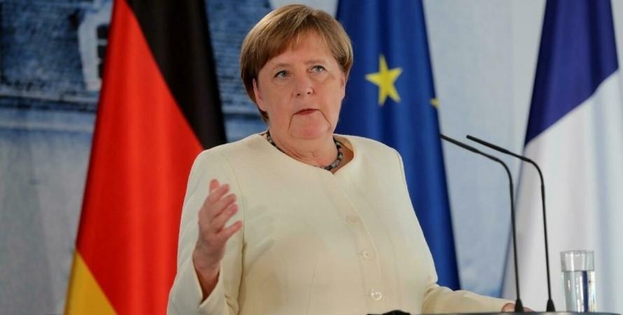 Ангела Меркель, СП-2, транзит,