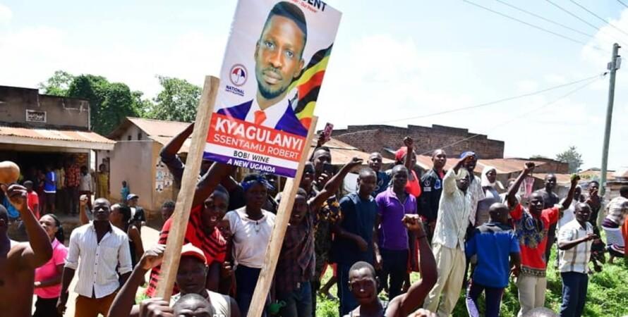 Боб Вайн, выборы, Уганда