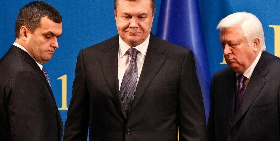 Виктор Янукович, Виктор Пшонка, Виталий Захарченко / Фото: УНИАН