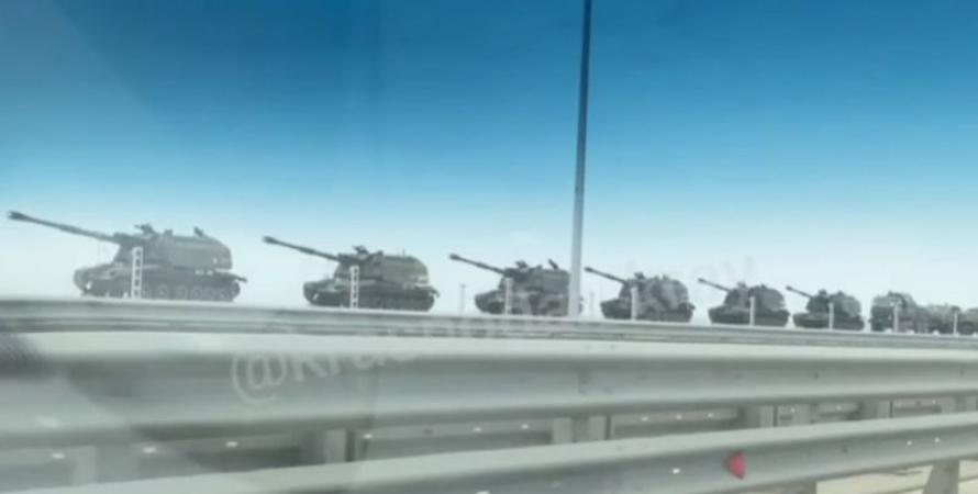 россия, украина, войска, граница, обострение, сау, эшелон, фото