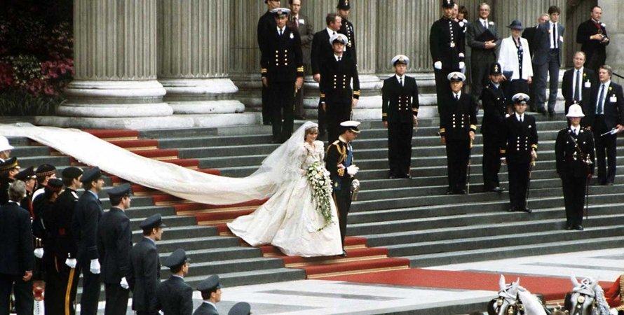 40 лет со дня свадьбы принцессы Дианы