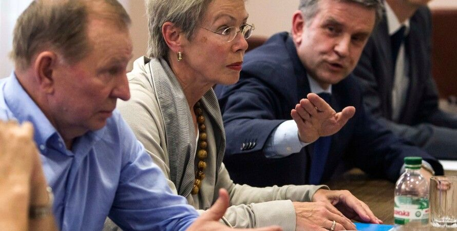Контактная группа в Минске / Фото: Reuters
