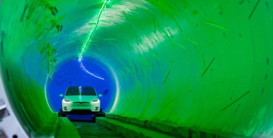 Hyperloop, Илон Маск, Лас-Вегас, Tesla