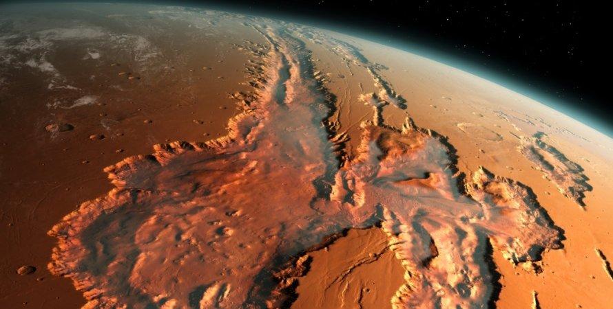 Марс, космос, фото