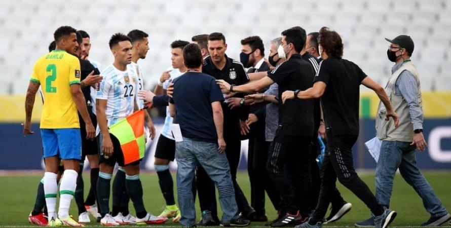 Збірна Аргентини, збірна Бразилії