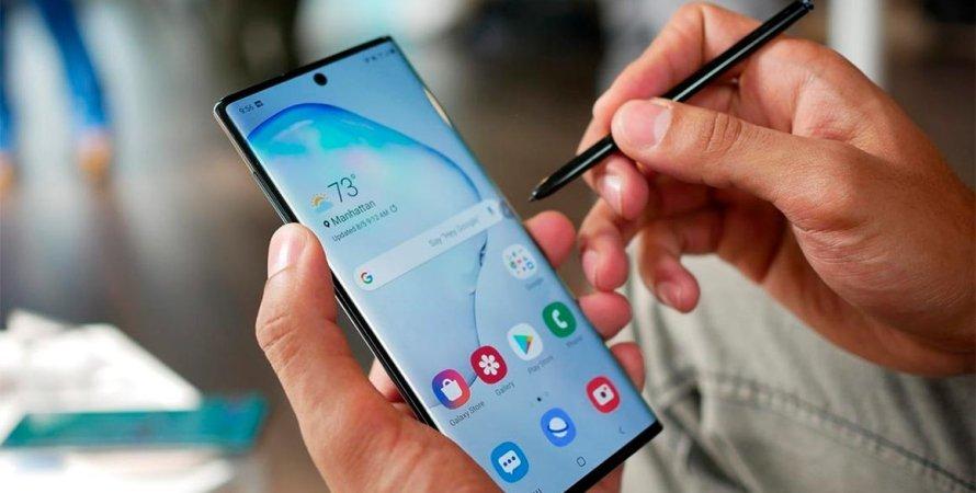 Galaxy Note 10 Plus, смартфон, Samsung