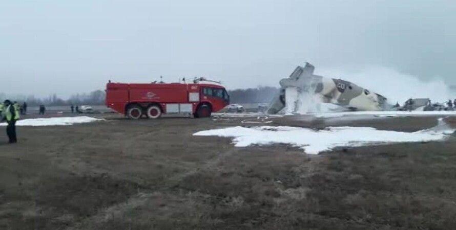 самолет, Казахвстан, Ан-26, крушение