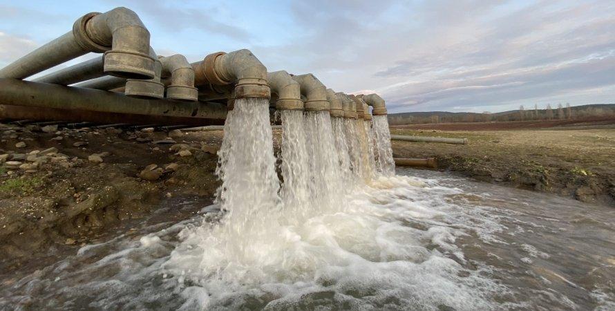 Крым, вода