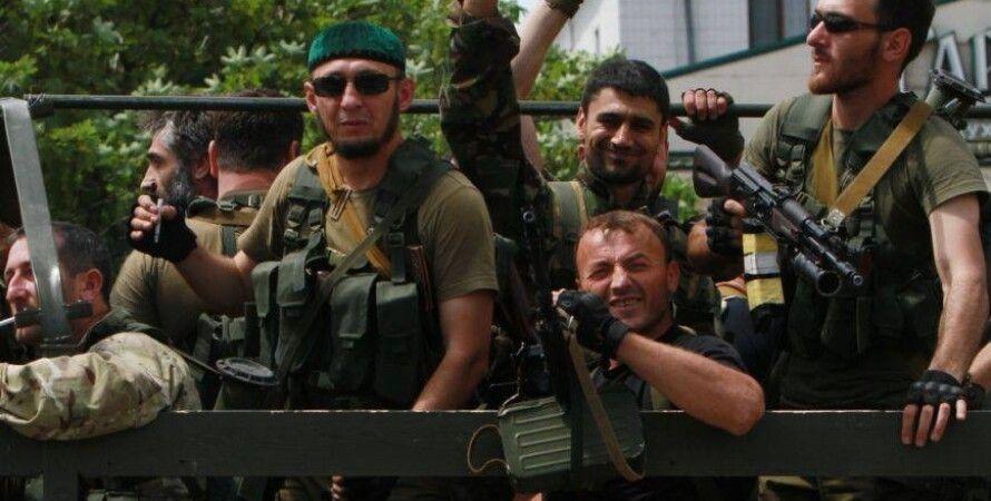 Боевики с Кавказа в Донбассе / Фото: 062.com.ua