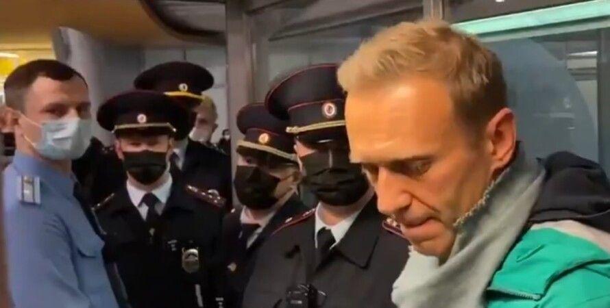алексей навальный, задержание