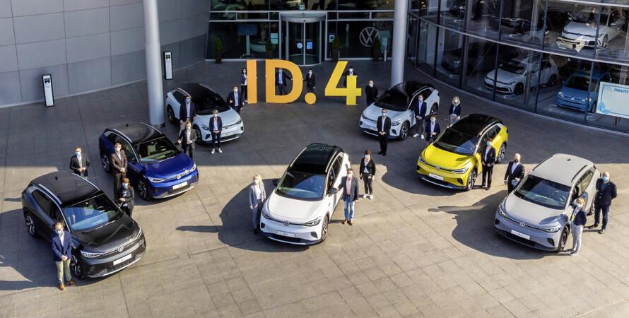 Volkswagen, Volkswagen ID.4, старт продажів Volkswagen ID.4