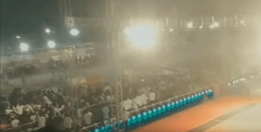 обвал трибун в индии, чп во время открытия чемпионата по каббади