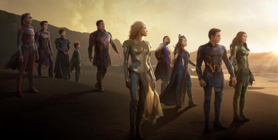 Вічні, Marvel, герої кіновсесвіту, постер