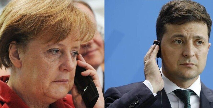 Володимир Зеленський, твіт, Twitter, Меркель, розмова телефон, переговори