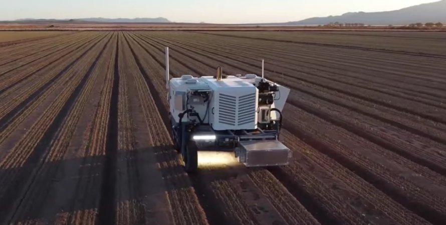 робот для сільського господарства, автономний робот з лазером