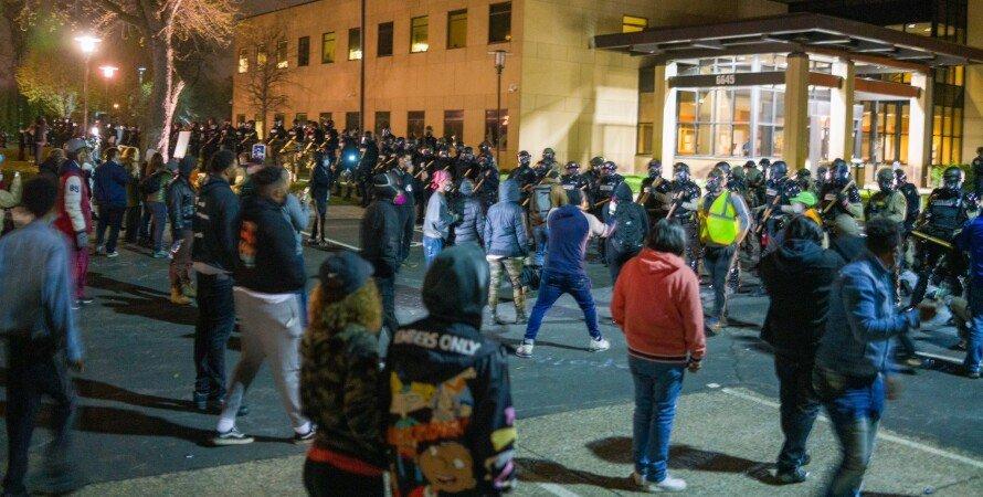 сша, протесты, полиция, убийство