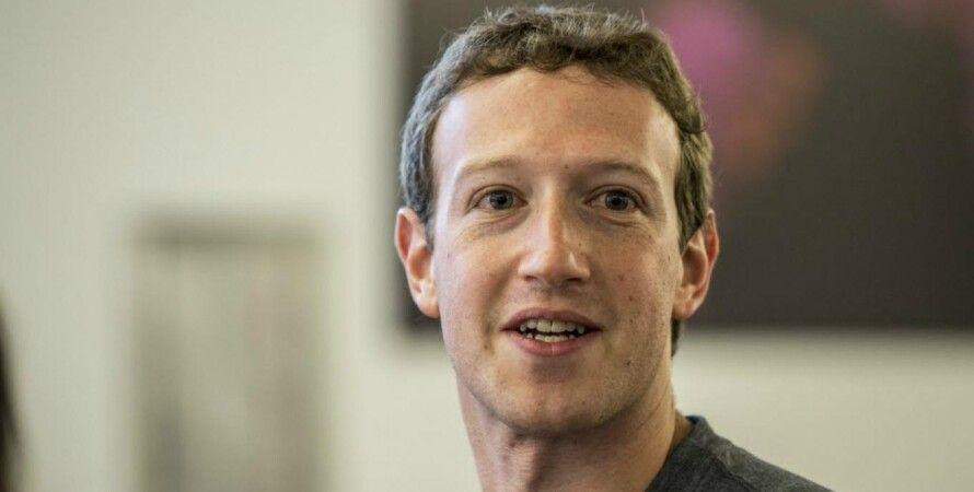 Марк Цукерберг, фейсбук