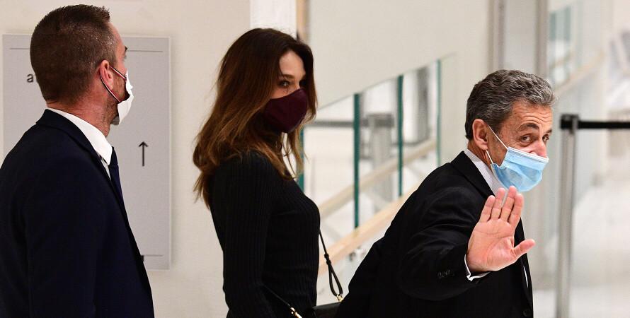 Карл Саркози, президент Франции, Карла Бруни-Саркози, первая леди Франции