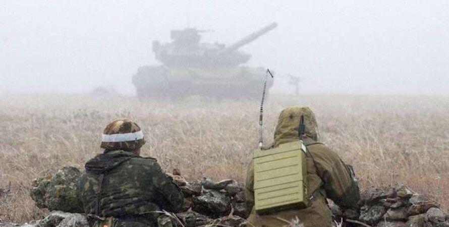 Танки боевиков вблизи Мариуполя / Фото: ukrainianwall.com