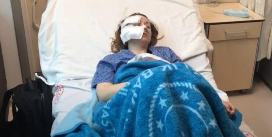 Анна Бутим, больница