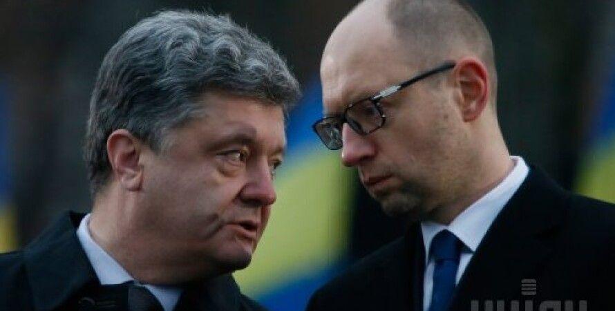 Петр Порошенко и Арсений Яценюк / Фото: УНИАН