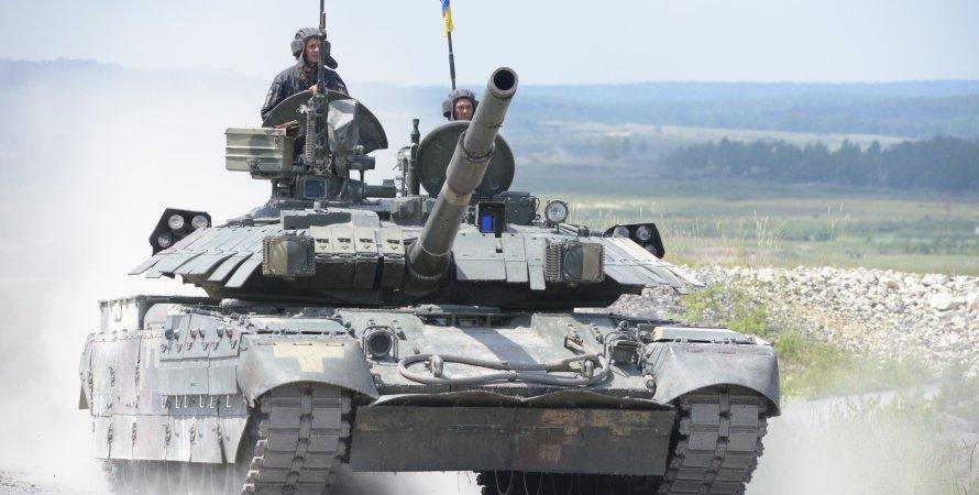 украинский танк Т-84 Оплот