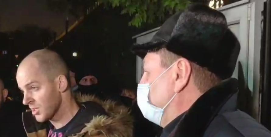 Алексей Сердюк, Сердюк, митинг, телеканал, наш