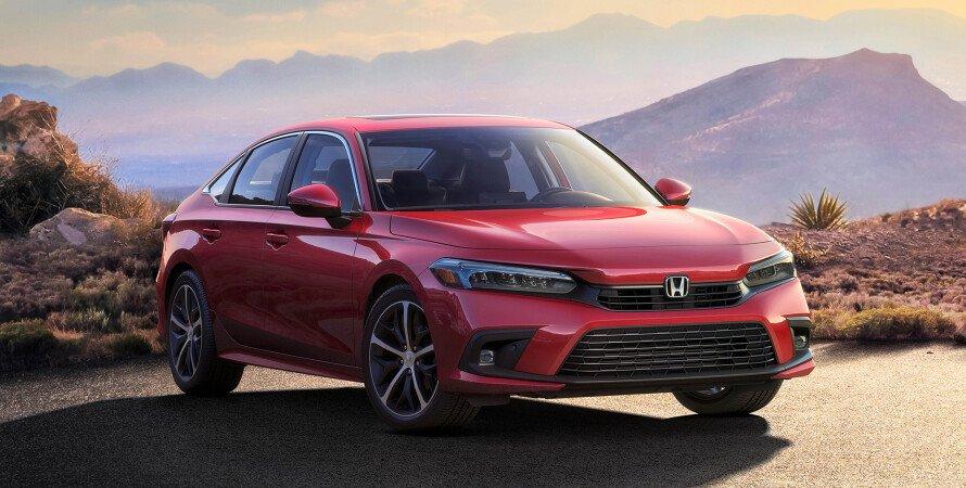 Седан Honda Civic, Седан Honda Civic нового поколения