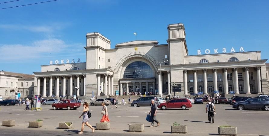 вокзал, днепр-главный, фото