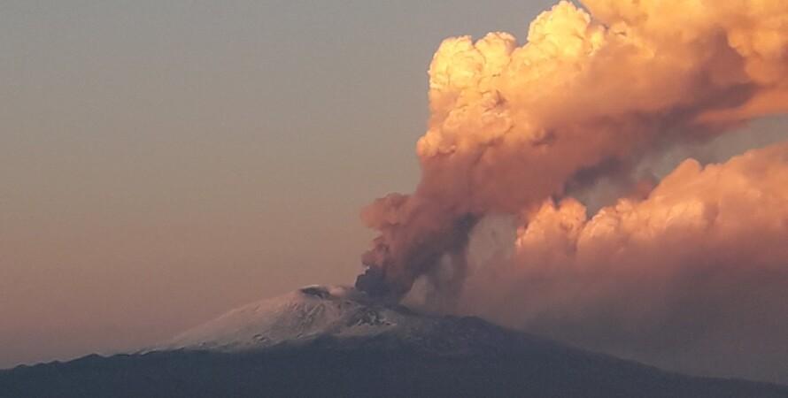 італія, етно, вулкан, виверження, сицилия