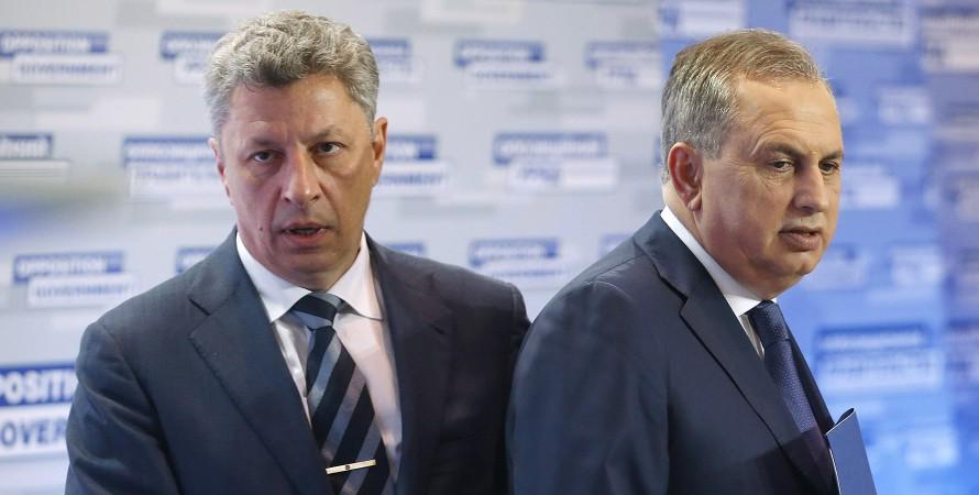 Борис Колесников, Юрий Бойко, депутаты ОПЗЖ