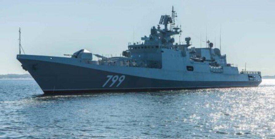 Адмірал Макаров, ЧФ РФ, Навчання, Кораблі, Чорне море