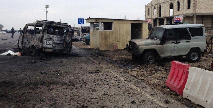 Фото с места теракта / Фото: ТАСС