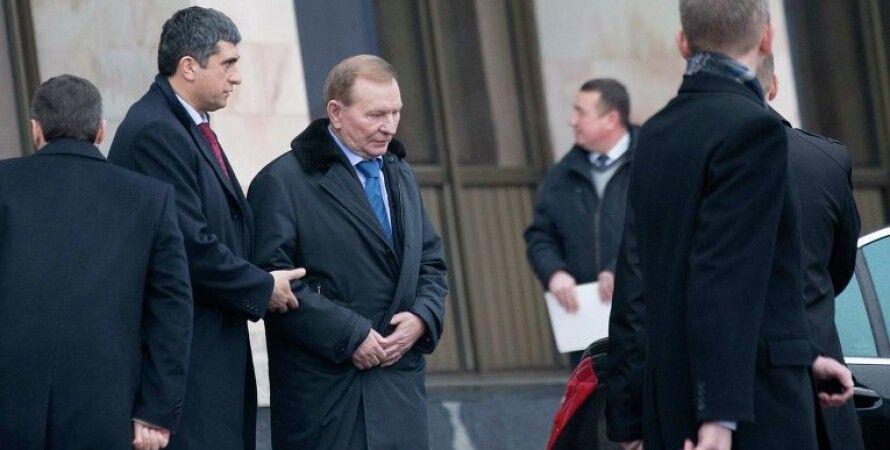 Леонид Кучма в Минске / Фото: Reuters