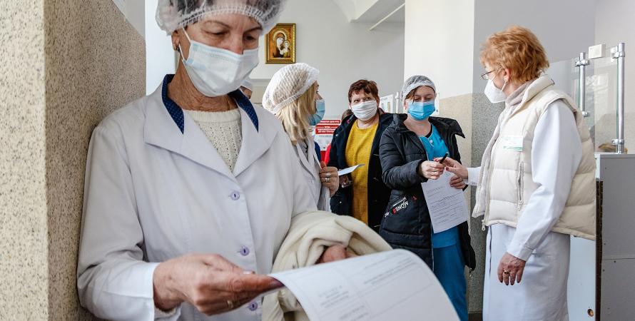 медпрацівники, лікарня — фото