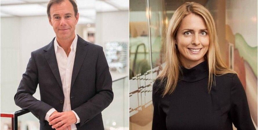 Карл-Йохан Перссон и Хелена Хельмерссон. Фото: FashionUnited