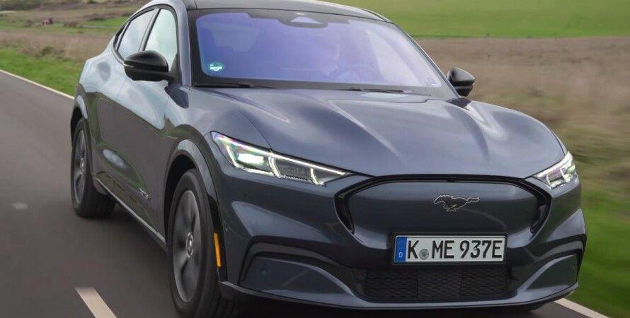 Mustang, форд, электрокар, Mach-E, Ford, авто