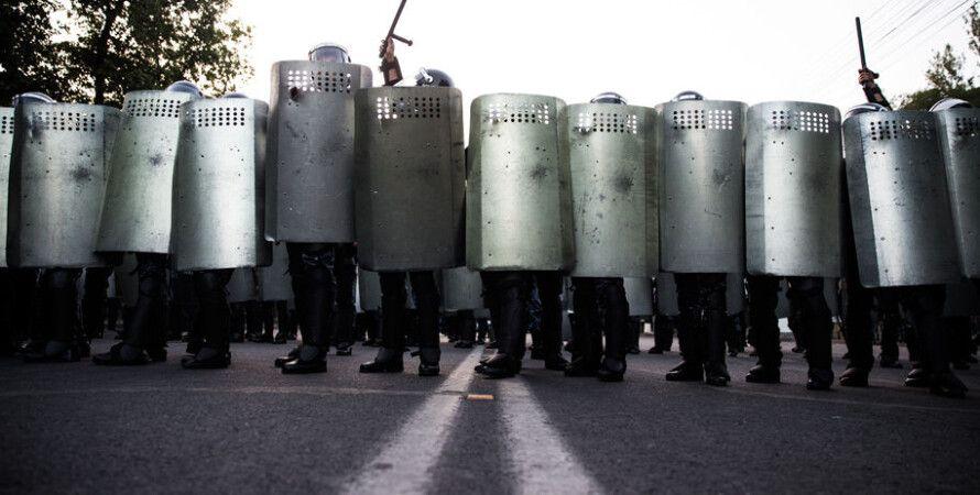 """Акции протеста в Ереване / Фото: """"Новая газета"""""""